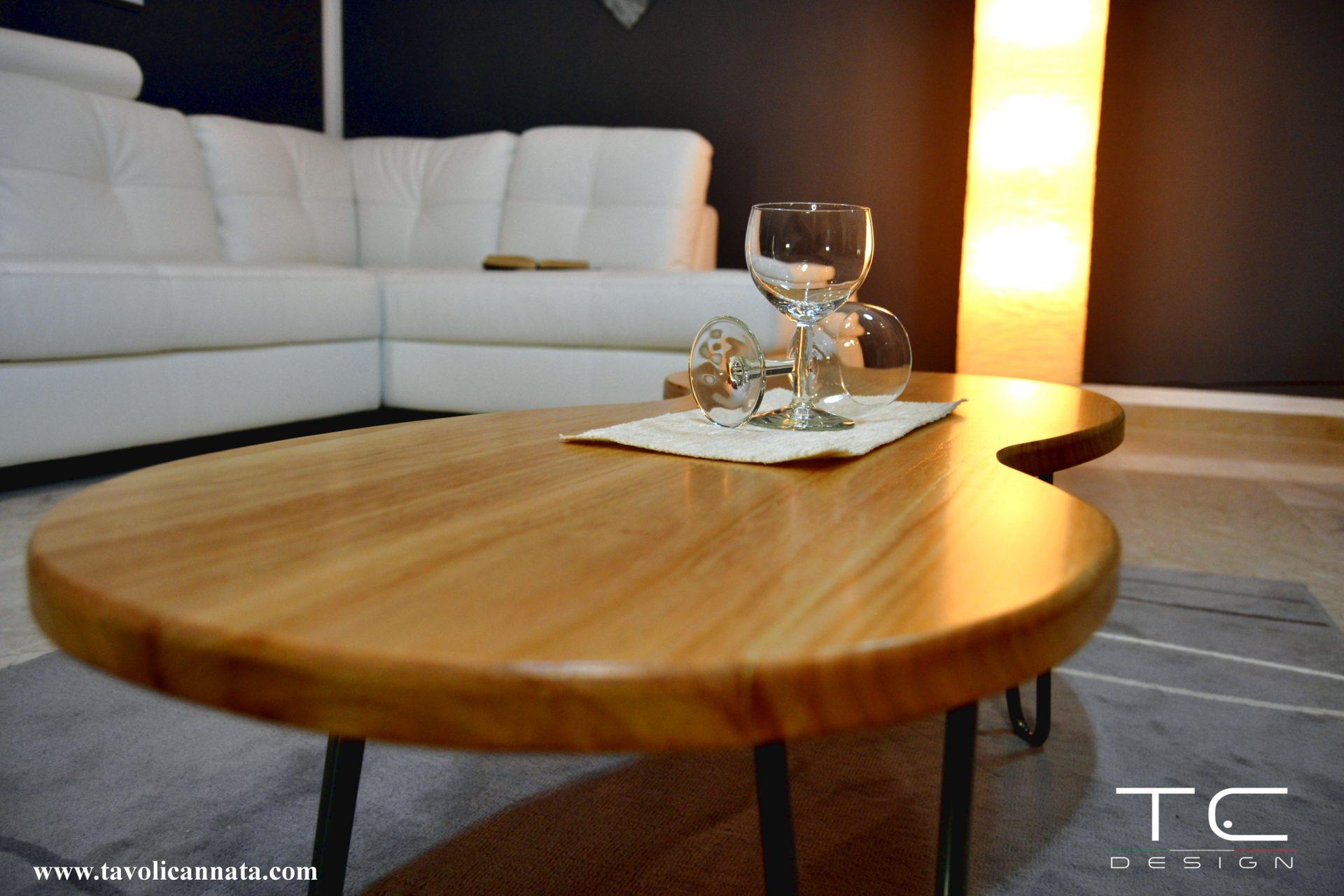 Tavolini In Legno Da Salotto : Tavolini da salotto in legno moderni tavoli cannata