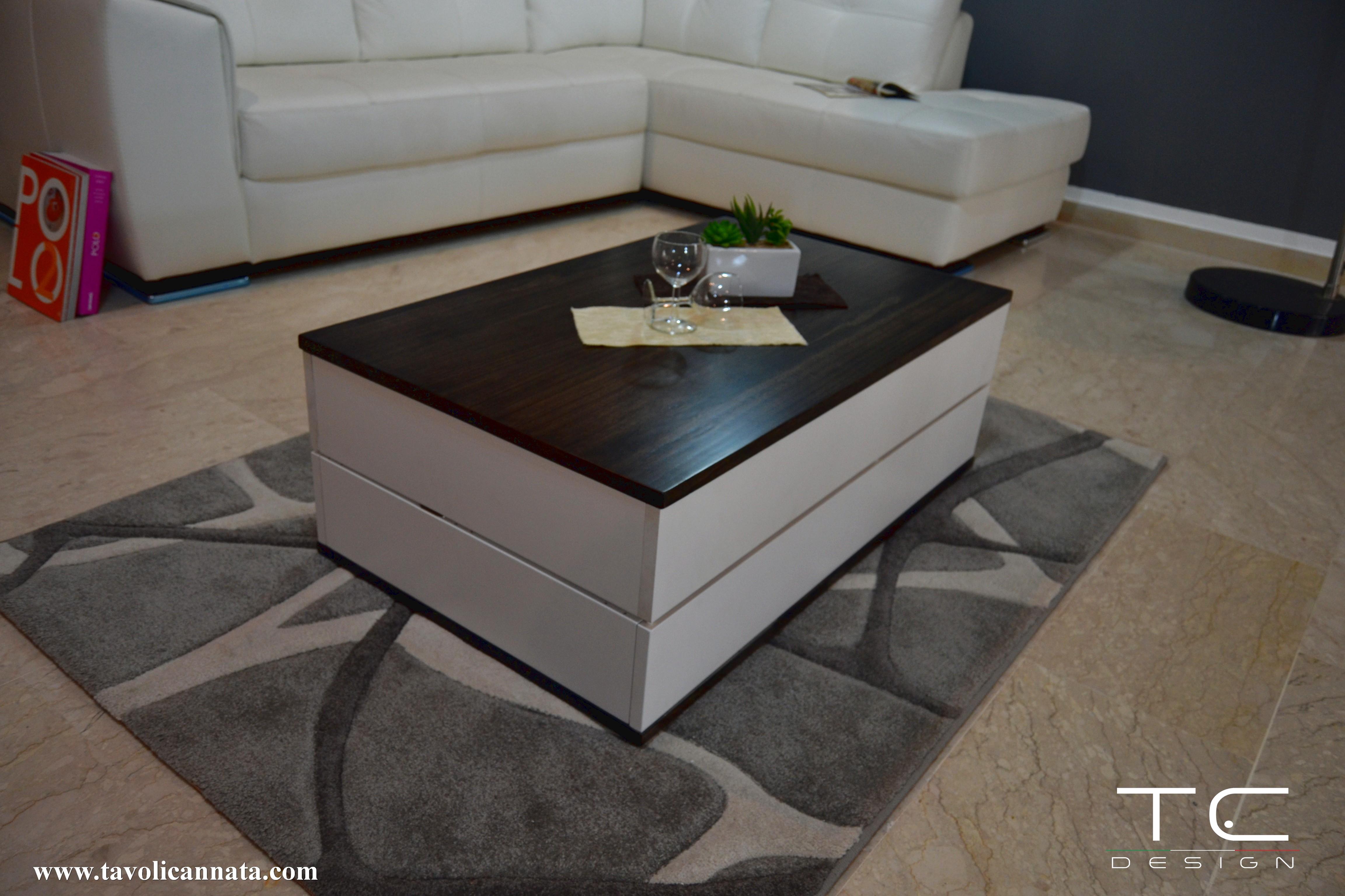 Tavolino Da Salotto Design.Tavolino Salotto Space Tavolini Cannata