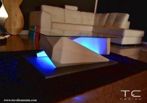 tavolini da caffe in vetro