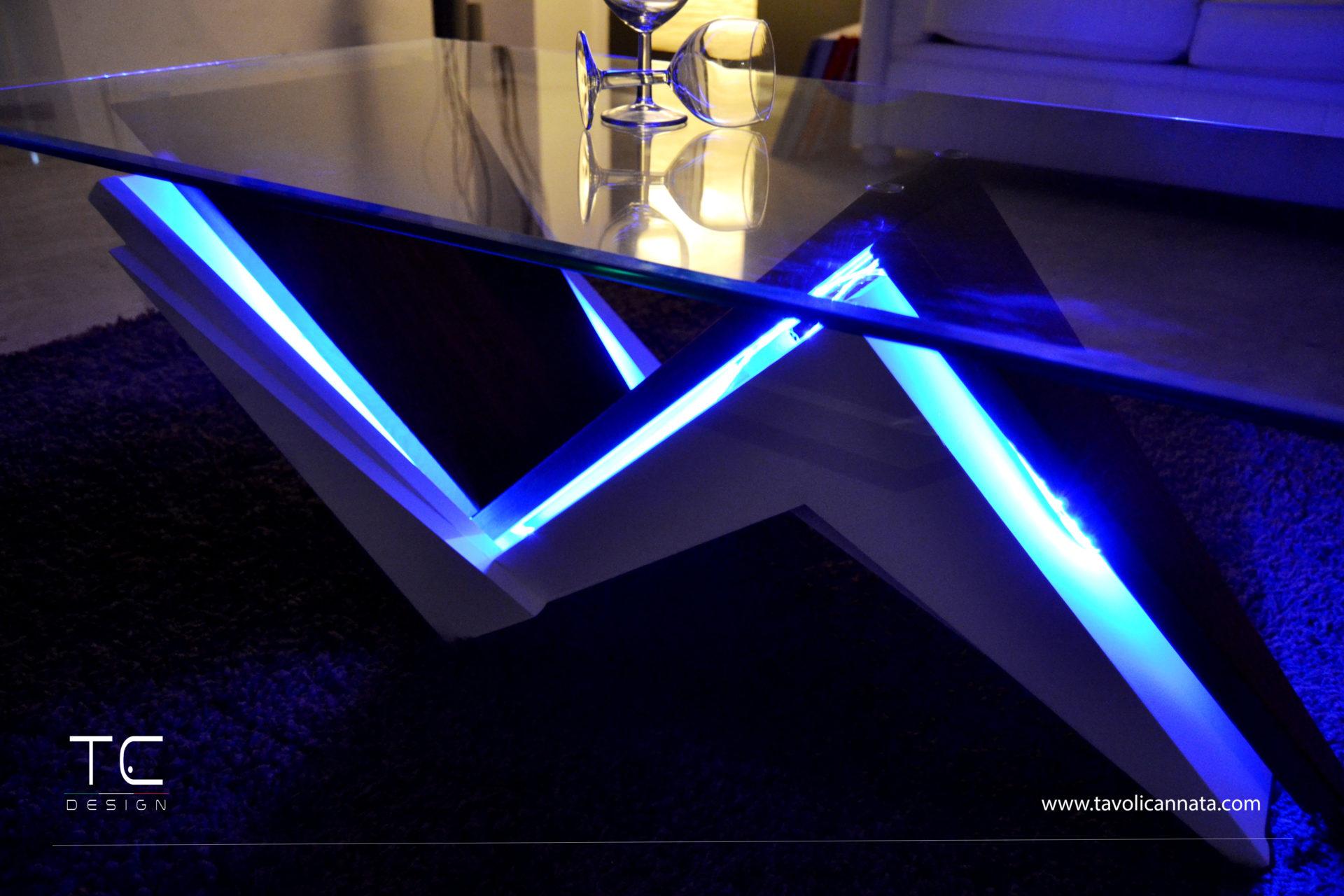 Tavolini Salotto Tavolini Da Salotto Moderni.Tavolini Da Salotto Con Led Di Design Tavoli Cannata