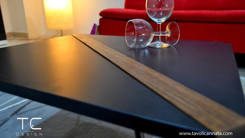 tavolino da salotto nero