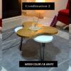 combination wood colors
