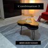 combination wood nero