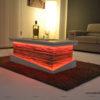 tavolino salotto rustico contenitore