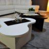 tavolini da salotto bianco e nero modello twist2