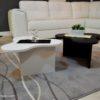 tavolini da salotto bianco e nero modello twist4