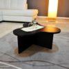 tavolino da salotto nero modello twist