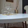 Tavolino salotto moderno rotondo