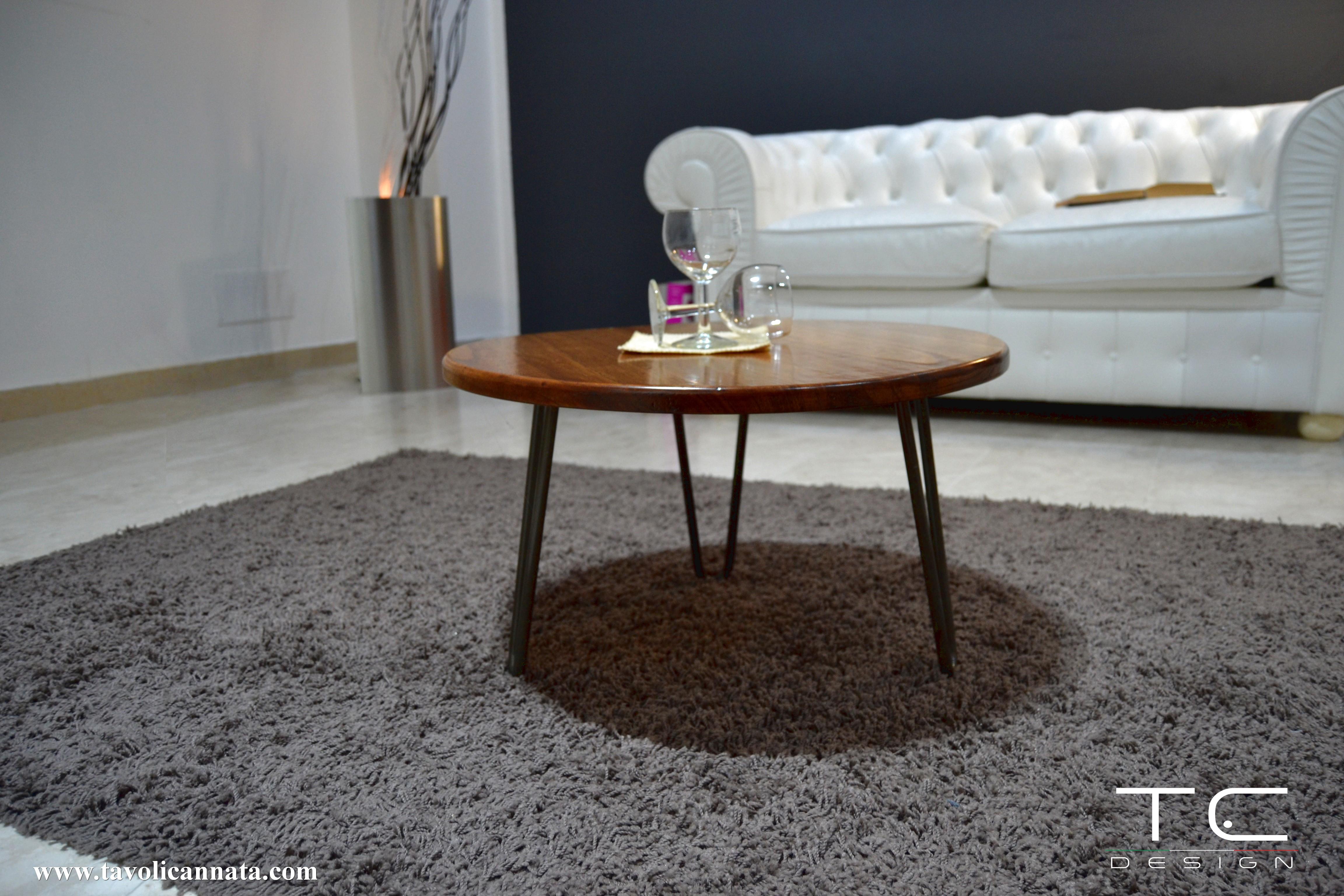 Tavolini Da Salotto Lago tavolino salotto design rotondo