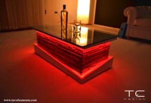 tavolini illuminati