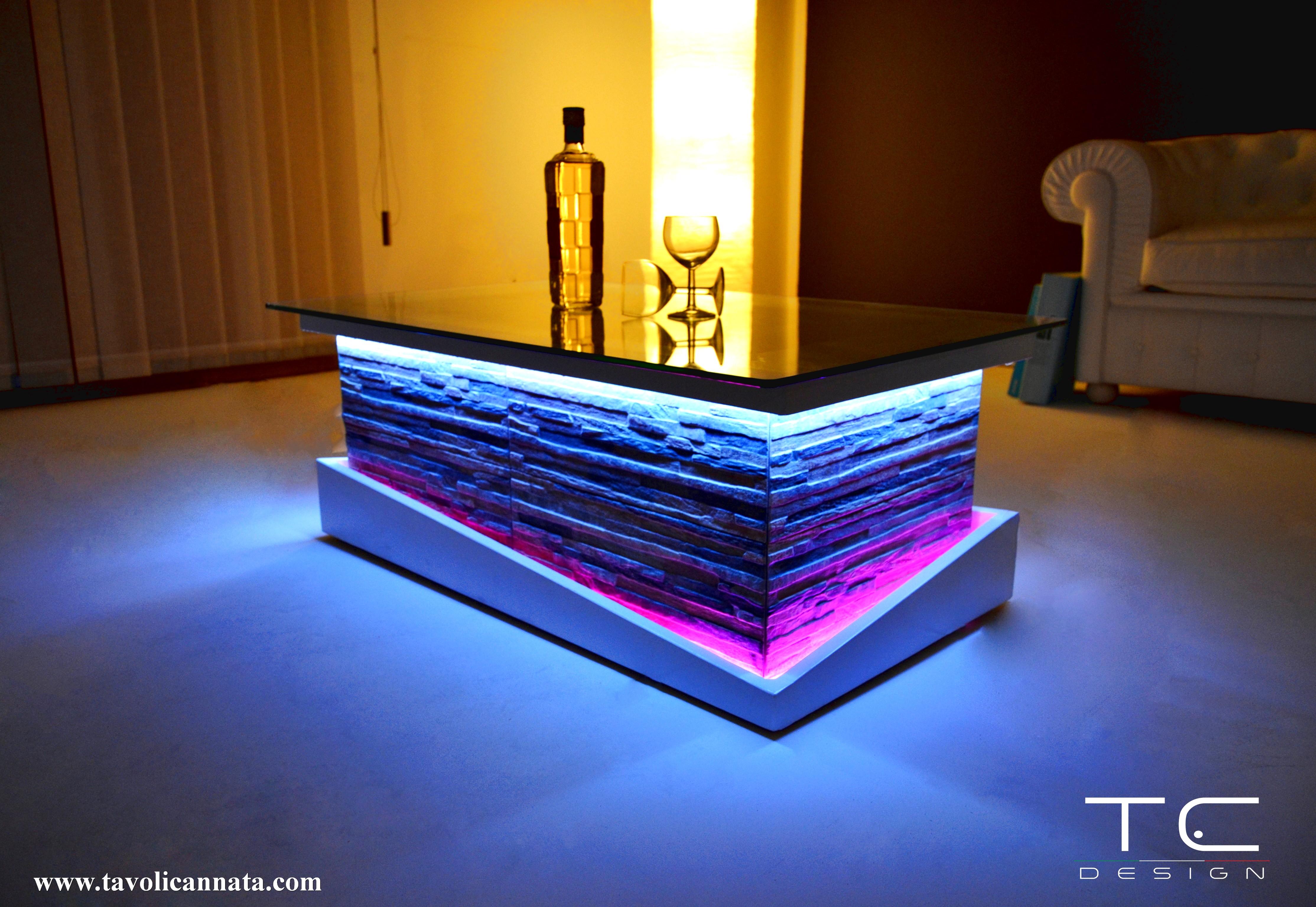 Tavolino salotto stone tavolini cannata for Tavoli moderni da salotto