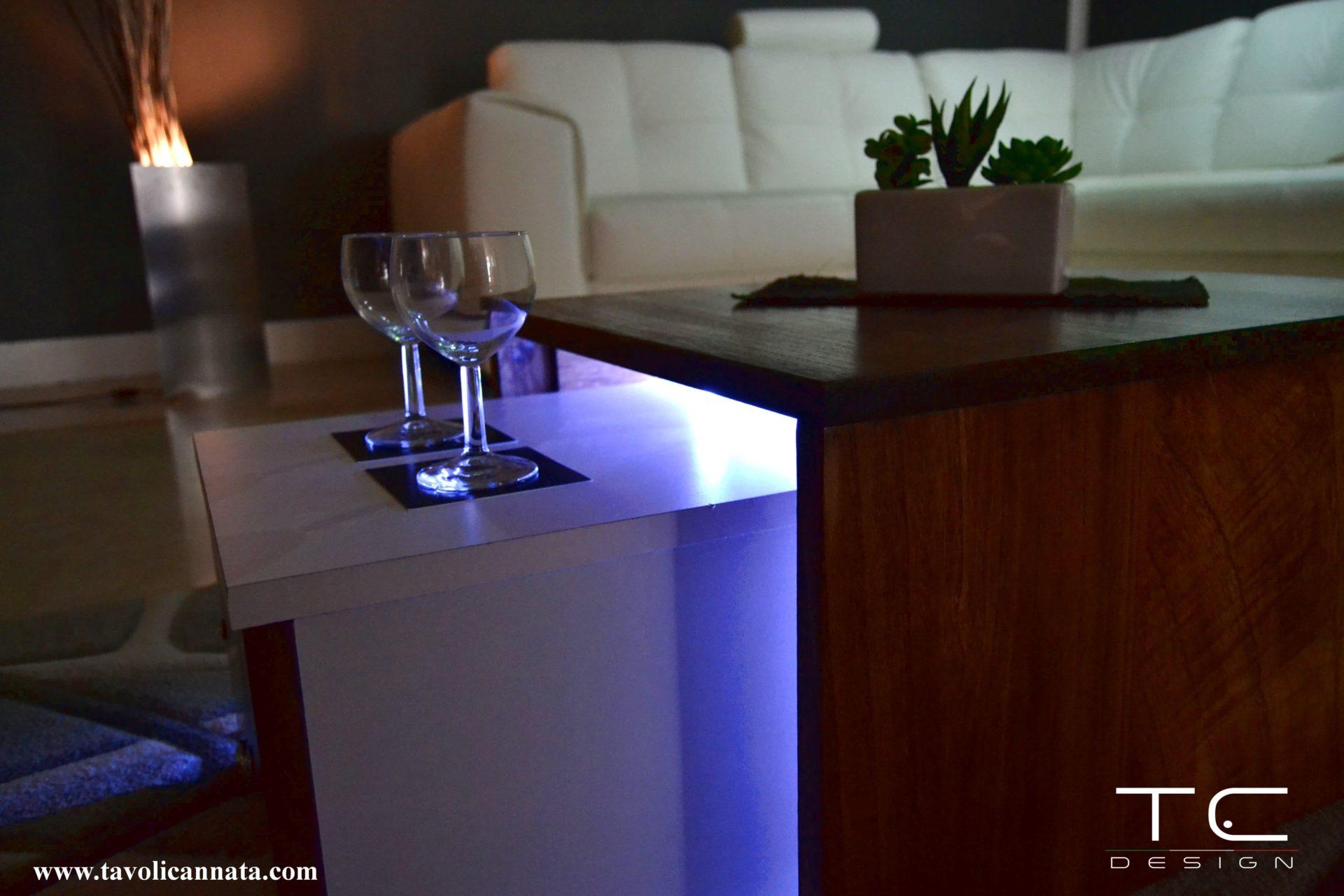 Tavolini da salotto di design moderni - Tavolini Cannata