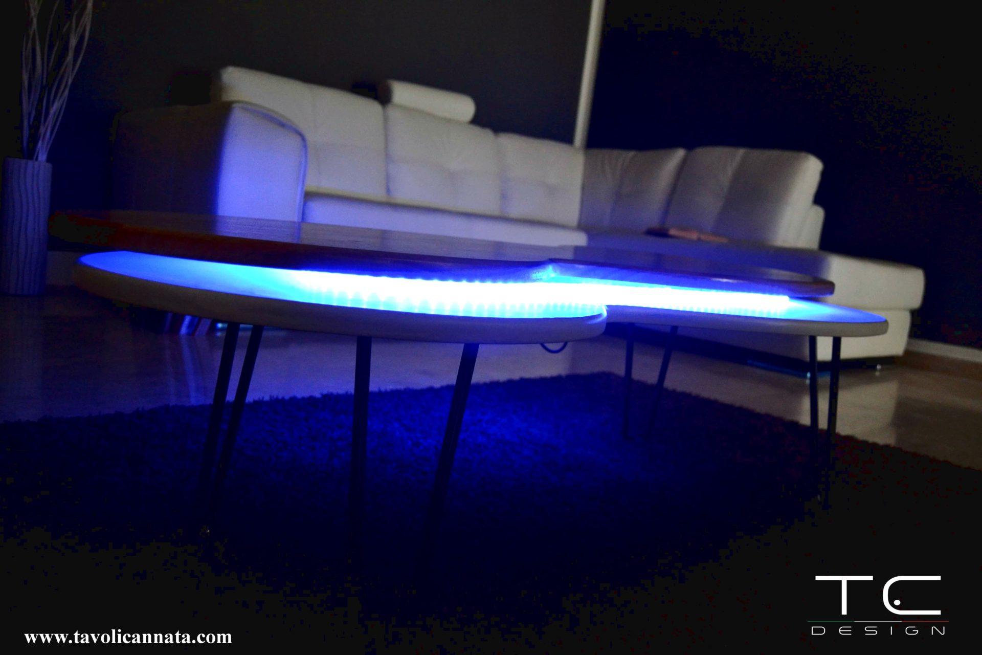 tavolini da salotto illuminati