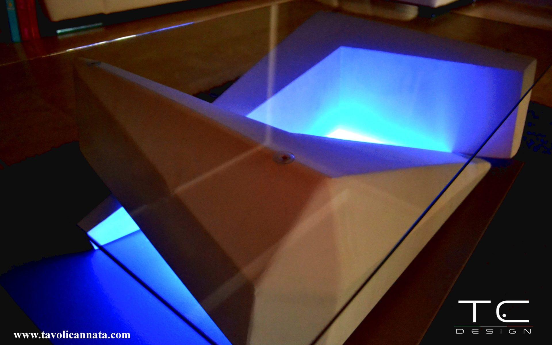 Tavolini da salotto in vetro moderni - Tavolini Cannata