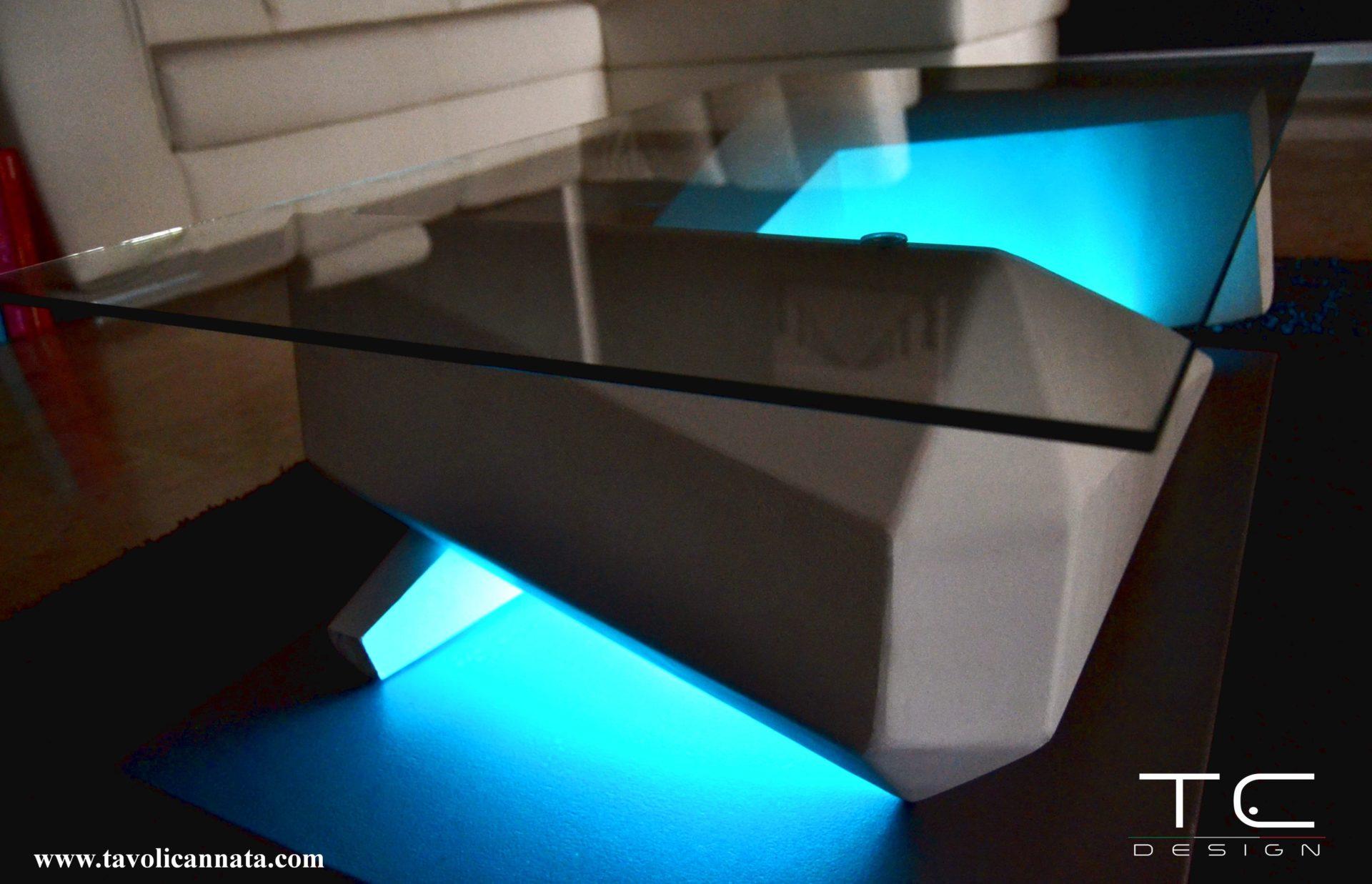 Tavolini in vetro per soggiorno moderni - Tavolini Cannata