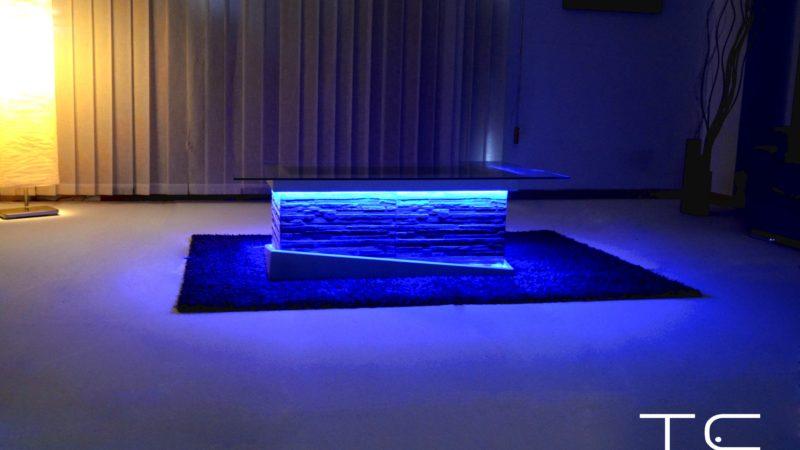 led lounge furniture